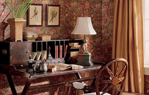 lir_roomset_550 Thibaut Historic Homes of America VII Бумажные обои Америка