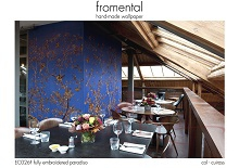 Fromental - EC026F fully embroidered paradiso �������� ���� � ���������