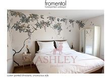 Fromental - custom painted chinoiserie �������� ���� � ���������