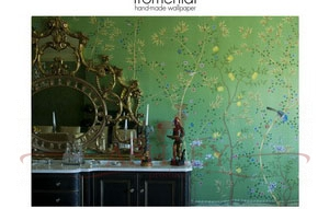 C026 Paradiso Kellydetail Fromental Fromental Текстильные обои Англия