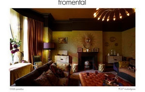 C026 paradiso PC27 mustardgrass2 Fromental Fromental Текстильные обои Англия