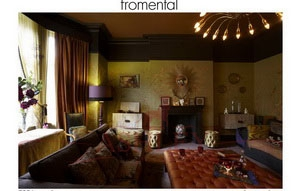 C026 paradiso mustardgrass Fromental Fromental Текстильные обои Англия