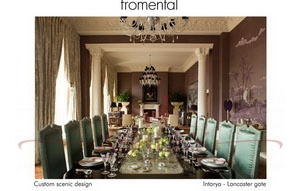Intarya Lancaster gate Fromental Fromental Текстильные обои Англия