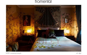 UC001 unconscious nonsuch col elgin Fromental Fromental Текстильные обои Англия