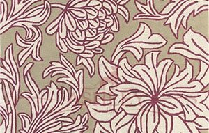 Chrysanthemum-WL-05 Morris and Co Ковры Англия