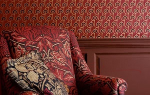 0017 Red House wallpaper LR Morris & Co Volume V Бумажные обои Англия