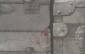 Luggage_Gunmetal Andrew Martin Engineer Бумажные обои Англия