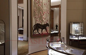 Panther_3128 De Gournay Custom projects Бумажные обои Англия