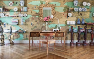 Coutts_2514 De Gournay Chinoiserie Бумажные обои Англия