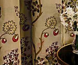 Blossom curtains