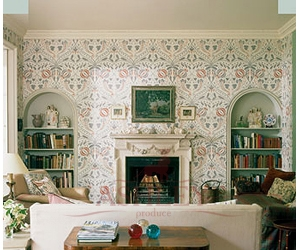 chateau_drawing_room Lewis & Wood Wallpapers Бумажные обои Англия