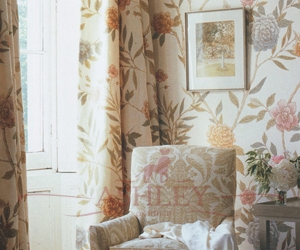 China-Rose-Vintage-Wallpaper-Curtains-300-dpi Lewis & Wood Wallpapers Бумажные обои Англия