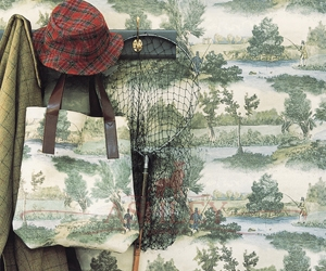 Fly-Fishing-300-dpi-10x15 Lewis & Wood Wallpapers Бумажные обои Англия