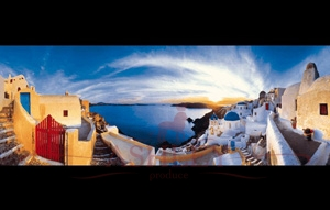 1074-Sunset-in-Santorini-270-744 Rafael Rafael_1 Фотообои Германия