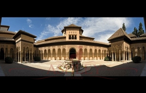 1167-150-372-Lions-Patio-in-Alhambra Rafael Rafael_2 Фотообои Германия